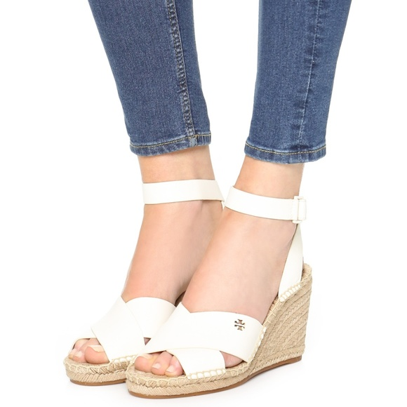 aea2fbe42f5 Tory Burch Bima Wedge Espadrille Strappy Sandals